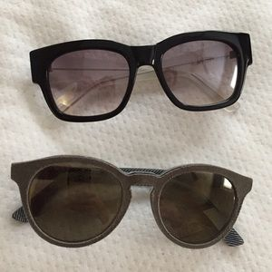 Cole Haan & Diesel sunglasses,never worn